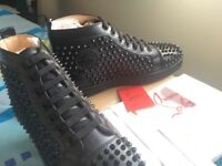 Brand new Christian louboutin shoes in black size 10 and 10.5 available
