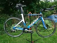 Giant trinity time trial/triathlon bike
