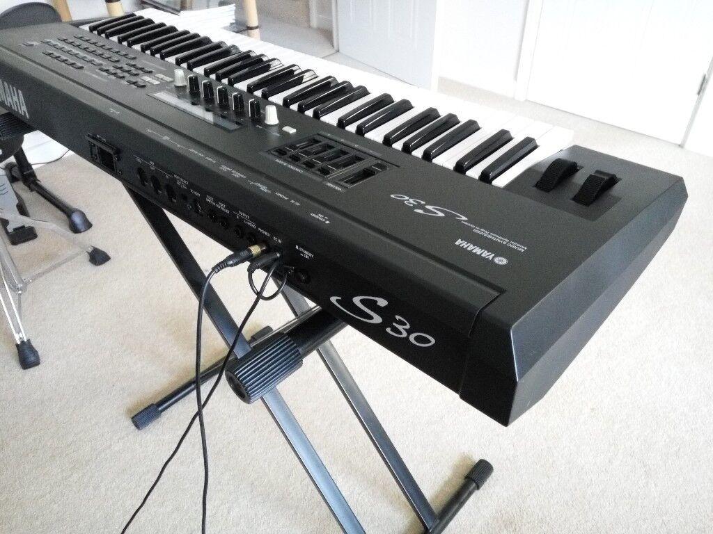 Yamaha S30 Professional Synthesizer Workstation Keyboard( S80, CS6x, MO8,  Motif, CS1x, CS2x, AN1x ) | in Wellington, Somerset | Gumtree