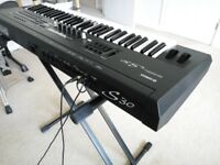 Yamaha S30 Professional Synthesizer Workstation Keyboard( S80, CS6x, MO8, Motif, CS1x, CS2x, AN1x )