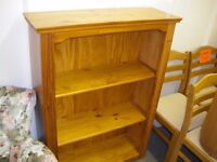 PINE LOW LEVEL BOOKCASE