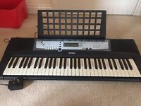Yamaha keyboard - excellent condition