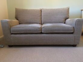 Sofa - 2 seater, from Next, Mink colour
