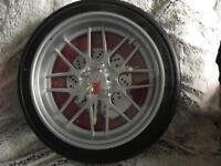 Wheel clock mint condition