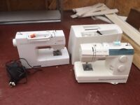 2 sewing machines - both in great condition