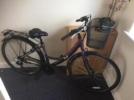 "Nearly new 16"" ladies bike 120£, was 216£"