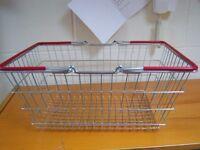 Metal Shopping Basket, Shop Supermarket
