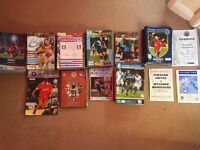 Wycombe Wanderers Programmes. Over 100 including signed Bohemians and Leicester FA Cup Quarter Final