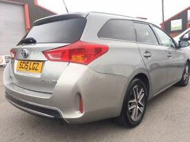 Toyota Auris 1.8 VVT-i Icon+ Touring Sports e-CVT HSD 5dr 3 YEAR WARRANTY FULL HISTORY