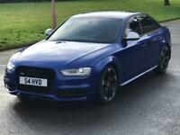 2015 AUDI S4 REPLICA MUST SEE SEPANG BLUE THOUSANDS SPENT 2.0 TDI DSG AUTO A4 S LINE BLACK EDITION