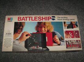 VINTAGE BATTLESHIP MB GAME
