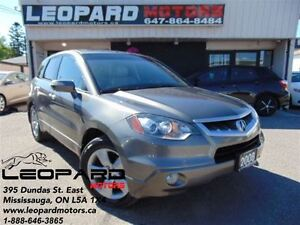 2008 Acura RDX Leather,Sunroof,Shifting Paddles*Low Km*