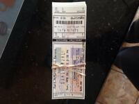 Western cup tickets