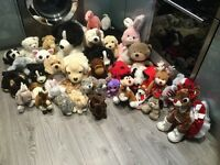 Cuddly toys, Job lot, Excellent bargain. Worth over £300.