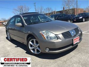 2005 Nissan Maxima 3.5 SE ** HTD LEATHER, SUNROOF, AUX. INPUT **
