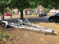 Boat Trailer - up to 30ft long, loadable weight 2ton