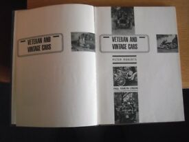 Veteran and Vintage Cars, first edition Paul Hamlyn 1963