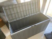 Outside garden storage box - brand new (slate grey)