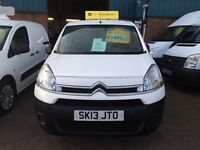 NEW SHAPE CITROEN BERLINGO VAN 3 SEATER 1.6HDI 2013/63REG £4999 NO VAT