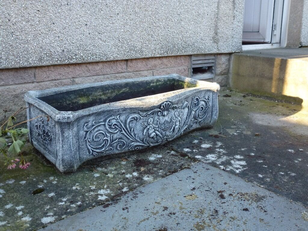 stone trough garden planters garden ornaments for sale in banff aberdeenshire gumtree. Black Bedroom Furniture Sets. Home Design Ideas