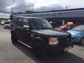 2005 Land Rover Discovery 3 2.7 TD V6 S 5dr 4X4 MANUAL BLACK DIESEL