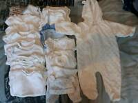Bundle of new born clothes