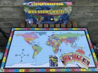 Who knows where? Test your geographical knowledge with this family board game.