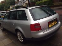 DIESEL AUDI A6 TDI ESTATE WITH MOT.GREAT ENGINE AND GEARBOX.NOT MAZDA BMW FORD VAUXHALL HONDA MEGANE