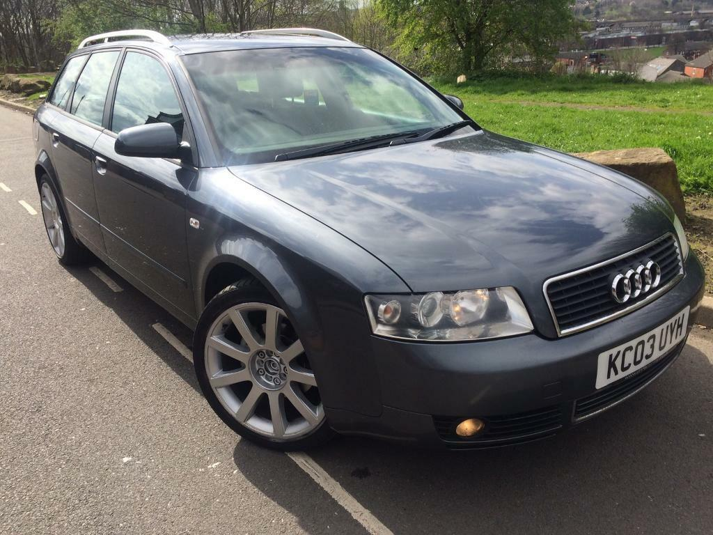 2003 audi a4 avant 2 0 fsi se estate 150 bhp cruise control service history rs4 alloys. Black Bedroom Furniture Sets. Home Design Ideas