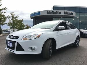 2013 Ford Focus SE w/ LEATHER, HEATED SEATS, SUNROOF, TINT