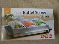 Buffet server good for keeping food warm. only used once.