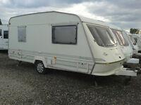 1996 Elddis Select Gold 450/4 Caravan with awning, £750, 4 berth
