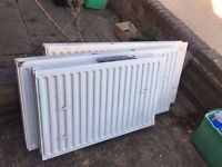 3x Free radiators - fully working - cast iron