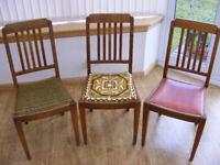 3x chairs. Very retro