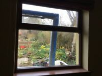 Hardwood double glazed window