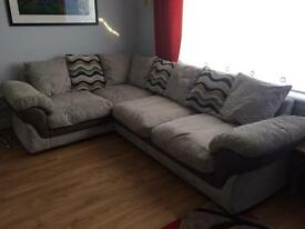 Corner settee and cuddle chair
