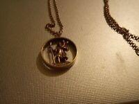 Gold st christopher
