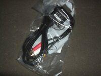 XBOX 360 COMPOSITE AV CABLE X15-61979-01 GENUINE OFFICIAL (BRAND NEW)