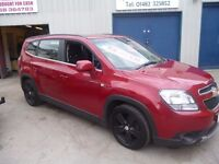 Chevrolet ORLANDO LTZ VCDI,6 speed,7 seat MPV,FSH,1 previous owner,2 keys,runs and drives as new