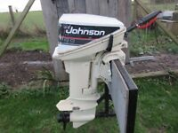 JOHNSON OUTBOARD BOAT ENGINE 9.9 / 15 HP GWO EVINRUDE