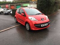 2008 Peugeot 107 1.0 Urban, £20 Road Tax, 1 Lady Owner from new
