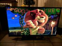 "Goodmans 39"" led hd tv dvd"