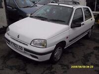Classic Renault Clio MK1..1.2cc..5 Doors..Long Mot