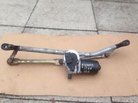 Fiat punto mk2 wiper motor and linkage assembly