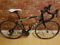 Felt Z100. Road Bike. 56cm Frame Carbon Forks. 2014 RRP £550. Outstanding Condition. Claris Groupset