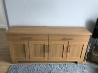 Sideboard - oak effect veneer sideboard