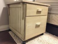 Bedside table or small office table