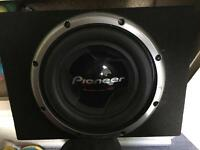 "Pioneer TS-W3002D2|D4 12"" Champion Series PRO Subwoofer with 3500 Watts Max. (1000 Watts Nom.)"