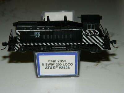 Life Like N Scale #7853 AT&SF N SW9/2100 Loco Rd #2428 VTG/NOS, used for sale  La Quinta