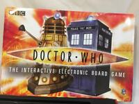 DOCTOR WHO, INTERACTIVE ELECTRONIC BOARD GAME, 2-6 PLAYERS, 7-ADULT